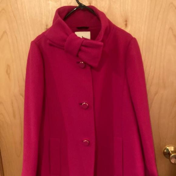 Kate spade size 14 pink coat